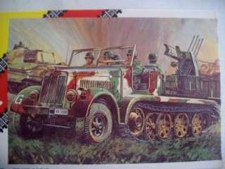 AHM Model Kit German Sd. KFZ Half Track 1/72