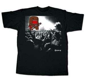 Domo Concert Mens Black T shirt
