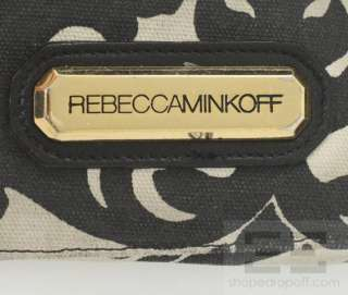 Rebecca Minkoff Black Leather Zipper & Pushlock Crossbody Bag