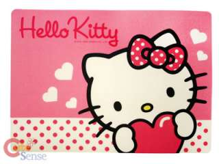 Sanrio Hello Kitty Desk Top Map, Work Pad, Mouse Pad Pink Love