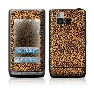 LG Dare VX9700 Skin Sticker Decal Cover   Orange Leopard