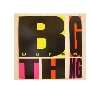 Duran Duran Poster Flat Big Thing