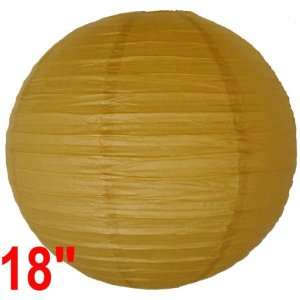 Light Brown Chinese/Japanese Paper Lantern/Lamp 18 Diameter   Just