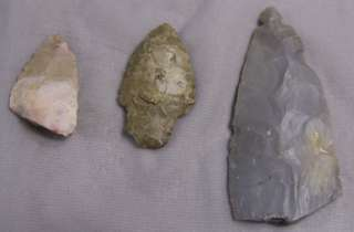 Lot 24 Native American Projectile Points Fort Ancient
