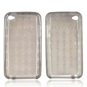 For Apple iPod Touch 4 Silicone Case Cover Skin SMOKE