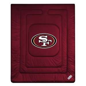 San Francisco 49ers NFL Locker Room Collection Comforter