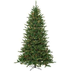 14 x 87 Frasier Fir Slim Christmas Tree w/ 2400 Clear