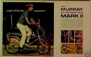 1969 Murray Eliminator Mark II Bike (2) Page Boys~Kids Bicycles Trade