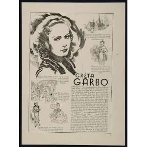 1933 Greta Garbo Janet Gaynor Actor Silent Film Star