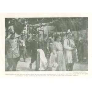 1920 Print Prince Nicholas Princess Milena Montenegro