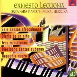 Vol. 3 Obra Para Piano Ernesto Lecuona Music