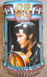 ANHEUSER BUSCH Elvis Gold Platinum Record Stein CS395