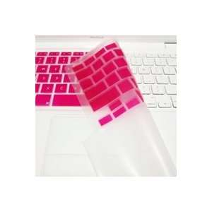 com TopCase HOT PINK Keyboard Silicone Skin Cover with palm rest area