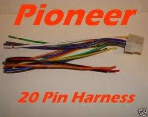 PIONEER Wire Harness DEH P720 P520 P600 P700R 20 pin