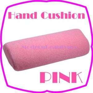 Soft Hand Cushion Pillow Rest For Nail Art Manicure   PINK