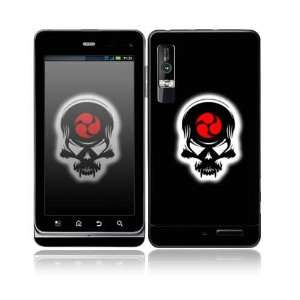 Samurai Death Skull Design Decorative Skin Cover Decal
