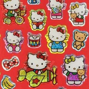cute Hello Kitty glitter sticker from Japan Toys & Games