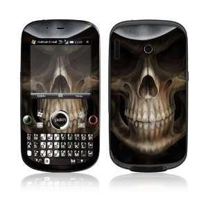 Palm Treo Plus Skin Decal Sticker  Skull Dark Lord