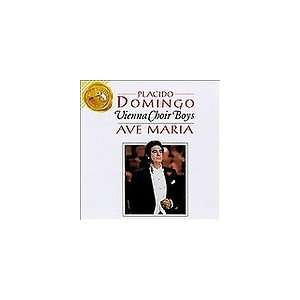 PLACIDO DOMINGO VIENNA CHOIR BOYS (Ave Maria) AUDIO CD