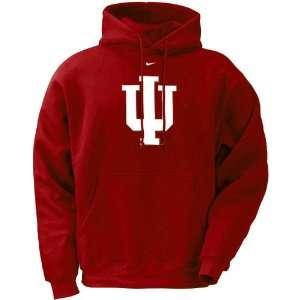 Nike Indiana Hoosiers Crimson Classic Logo Pullover Hoody