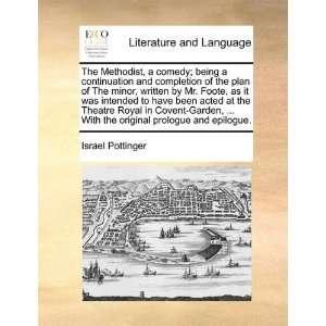 prologue and epilogue. (9781140696636) Israel Pottinger Books