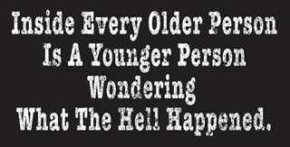 255A OLD funny 40th 50th 60th birthday gag gift Shirt