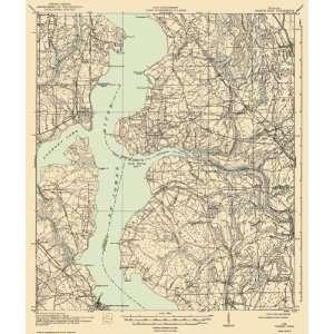 USGS TOPO MAP ORANGE PARK QUAD FLORIDA (FL) 1918