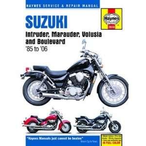 Haynes Manual Suzuki Intruder Marauder Boulevard