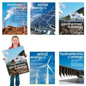 5 Energy Learning Charts   Teacher Resources & Posters