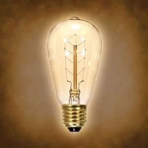 Hairpin Antique Antique Carbon Filament Light Bulb: Home Improvement