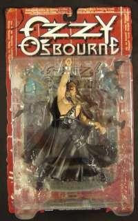 Ozzy Osbourne action figure with bats McFarlane Toys