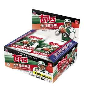 2011 Topps Football Factory Sealed Box NEW