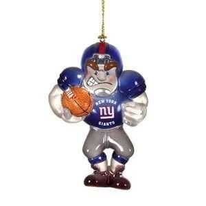 New York Giants NFL Acrylic Football Player Ornament (3.5