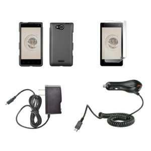 LG Lucid 4G (Verizon) Premium Combo Pack   Smoke Gray