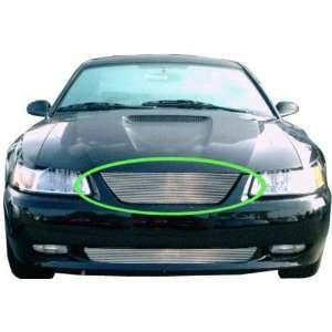New Ford Mustang Billet Grille   Polished, No Cut 99 04