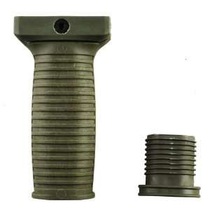 Military Law Enforcement Polymer Vertical Foregrip Grip OD GREEN Tango
