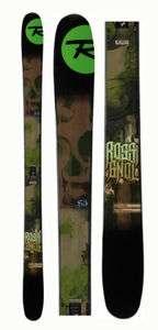 Rossignol S3 178cm Rocker Freeride Twin Tip skis + Bindings