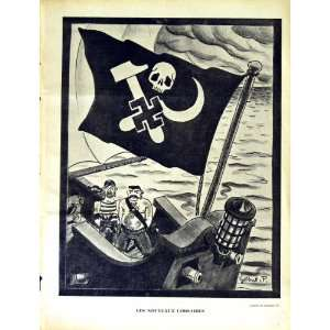 LE RIRE FRENCH HUMOR MAGAZINE PIRATE GERMAN SHIP WAR: Home & Kitchen