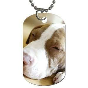 Cute puppy dog Dog Tag with 30 chain necklace Great Gift
