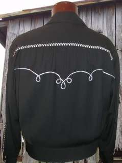 Cadzoots Custom Retro Rockabilly Western Cowboy Jacket