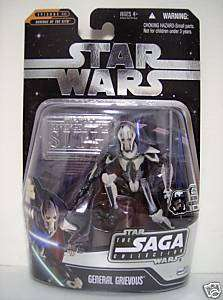 GENERAL GRIEVOUS Star Wars Saga Ultimate Galactic Hunt