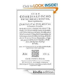 OCHO COMEDIAS Y OCHO ENTREMESES NUEVOS NUNCA REPRESENTADOS (Spanish