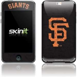 San Francisco Giants   Solid Distressed skin for iPod