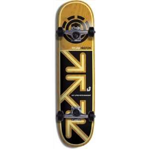 Element Skateboards Nyjah Drop Down Complete   7.63