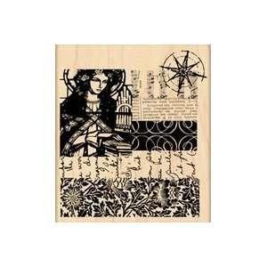 Penny Black Rubber Stamp 3.5X4 Eternal Arts, Crafts