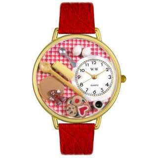 Baking Watch Gold Baker Gingerbread Clock Gift Cook New