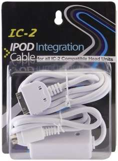 NEW Power Acoustik IC 2 iPod iPhone Connection Cable