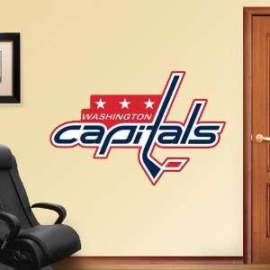 NHL Washington Capitals Logo Vinyl Wall Graphic Decal