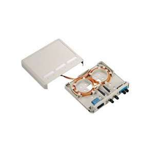 Cables to Go 3847 Fiber Surface Mount Box (White