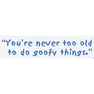 Goofy Things   Unmounted Rubber Stamps Arts, Crafts